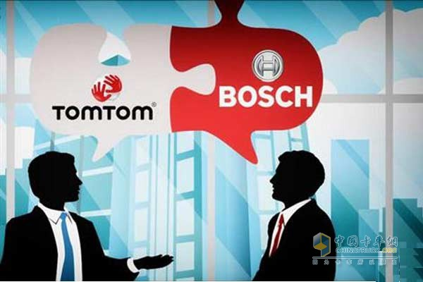 Bosch teamed up with TomTom to develop high-precision digital maps