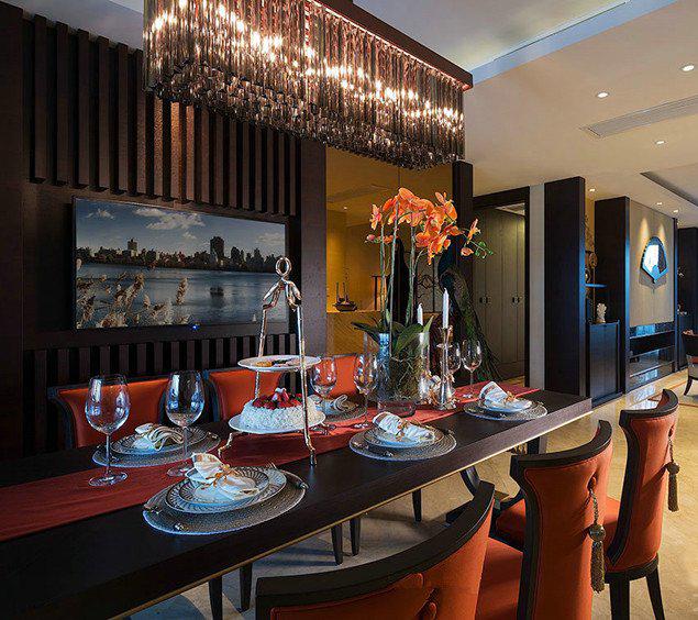 餐厅吊灯安装高度