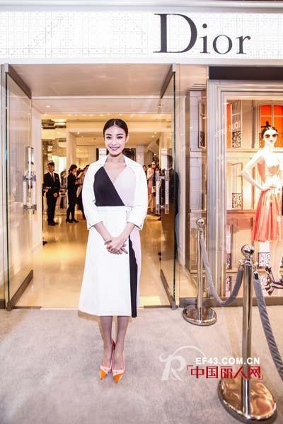 迪奥女装精品店杭州大厦重装开幕