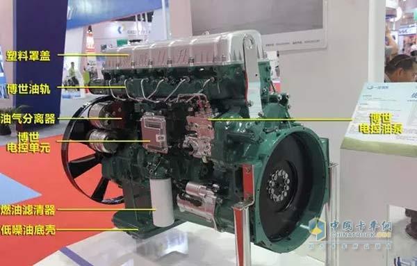 Xichai Aowei 11 litre engine introduction