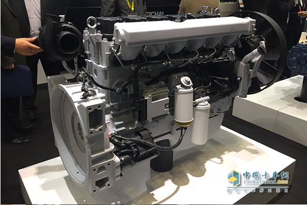 Weichai WP10 Euro six diesel engine