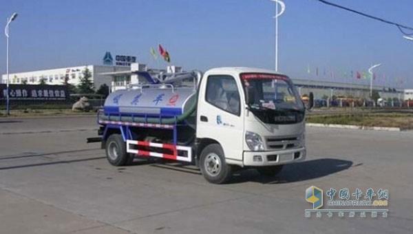 Foton Ao Ling suction truck