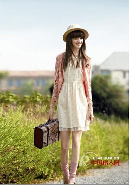 天衣布品少淑女装  都市女性时尚生活的影射