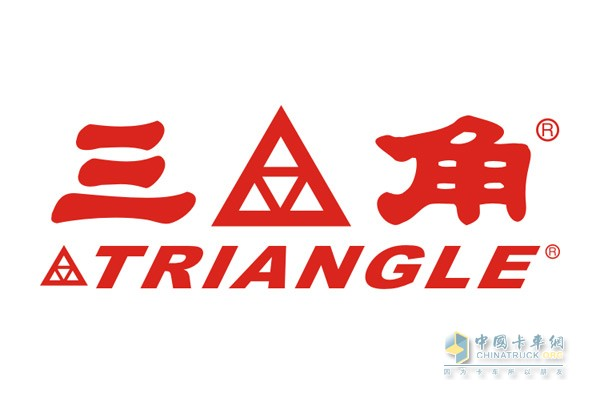 Triangle tire sign
