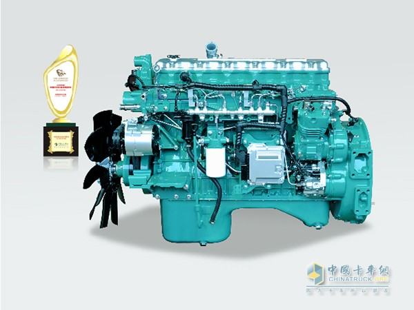 "FAW Xichai Hengwei won the ""2016 China's truck users most trusted fuel-efficient medium-sized engine"""