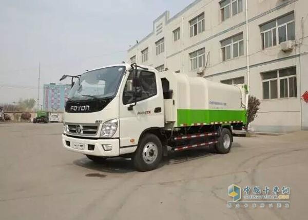 Foton Aoling multifunctional garbage truck