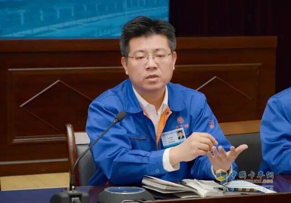 Group General Manager Ma Xuyao ​​speaks