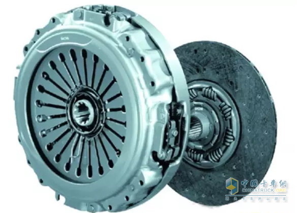 Clutch pressure plate and friction plate