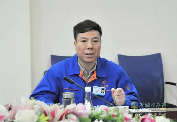 Fast chairman Yan Jianbo speaks