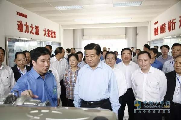 Jia Qinglin Visits Yuchai