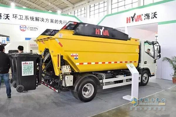 Hayward high dump truck