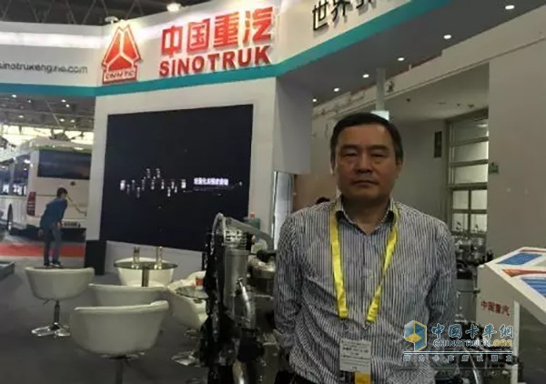 Chen Ming, Deputy General Manager of China National Heavy Duty Trucks Sales Co., Ltd.