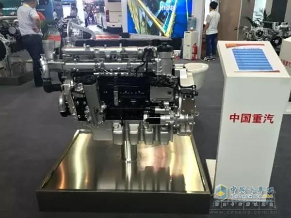China National Heavy Duty Truck MC07 Engine