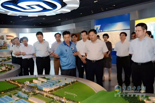 Hefei Municipal Party Committee Secretary Visits Fast