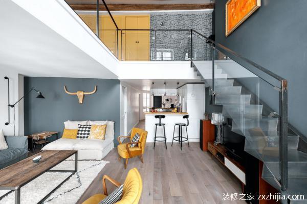 复式住宅装修之楼梯