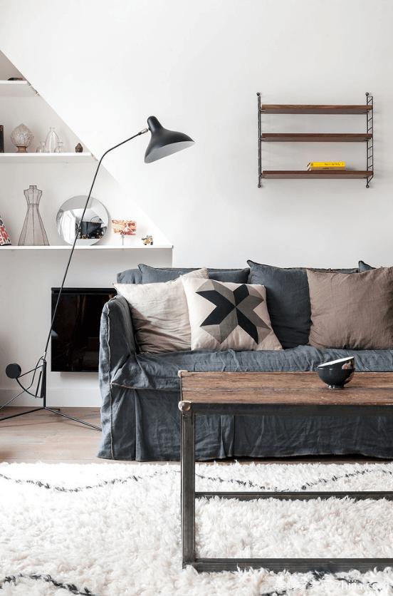 复式住宅装修之沙发