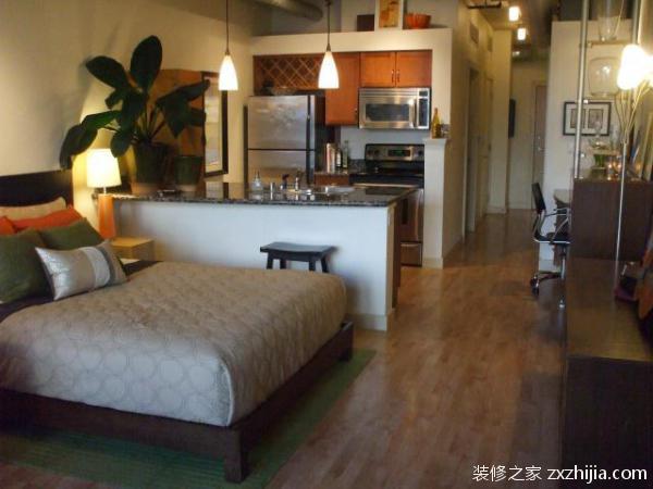 单身公寓装修六