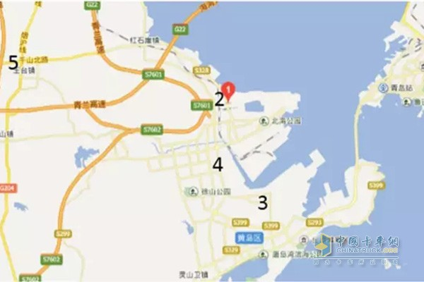 The first batch of five filling stations along Qingdao Port opened at the end of September