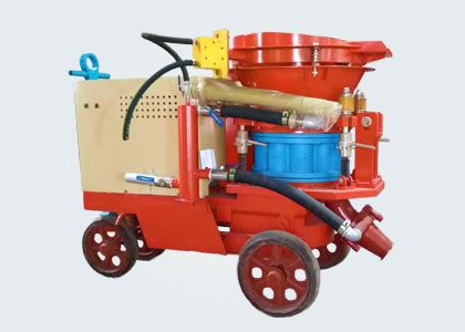 Before the construction of the concrete spraying machine, what problems should be paid attention to?