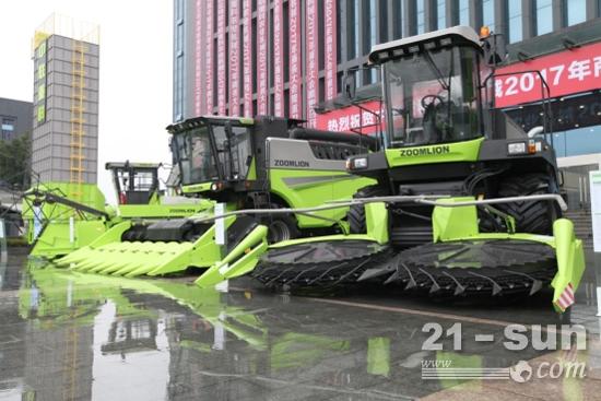 中联重科农业机械发布系列4.0产品