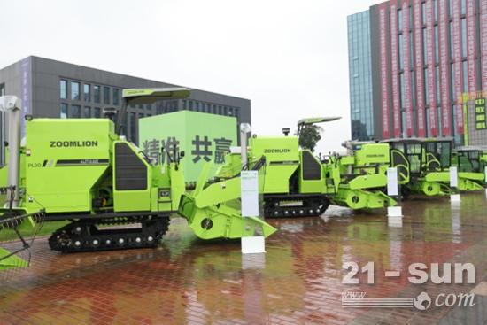 中联重科系列水稻机新品能满足不同用户需求