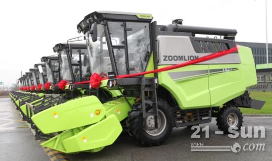中联重科小麦机新品将进一步助力三夏麦收效率的提升
