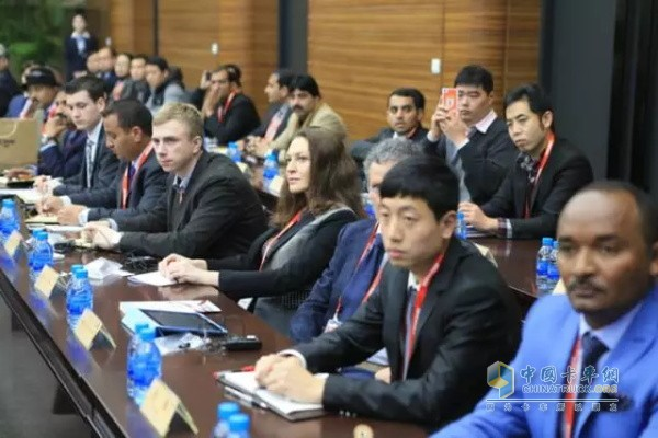 Weichai overseas agents, dealers business conference