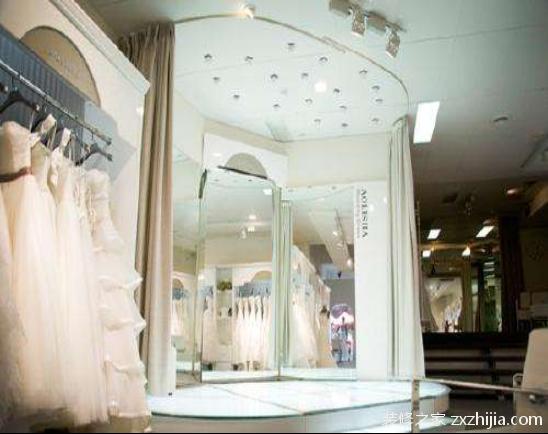 婚纱店灯光