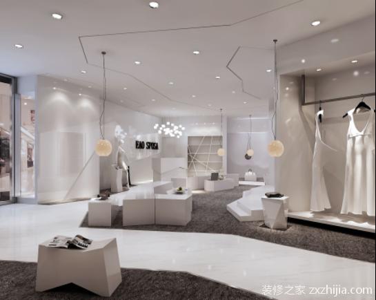 婚纱店灯光设计