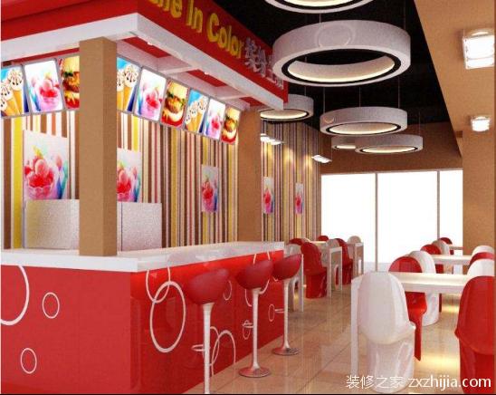 冷饮店装修设计