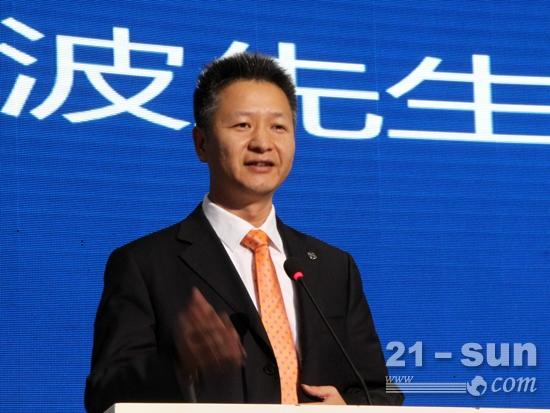 广西柳工机械股份有限公司总裁黄海波