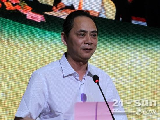 柳工装载合作方——潍柴动力副总裁李绍华