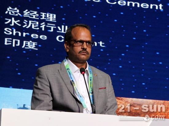 柳工国际大客户代表——印度水泥行业总经理讲话