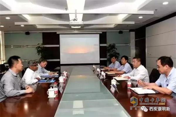 Pan Yukang Visits Shaanxi Auto