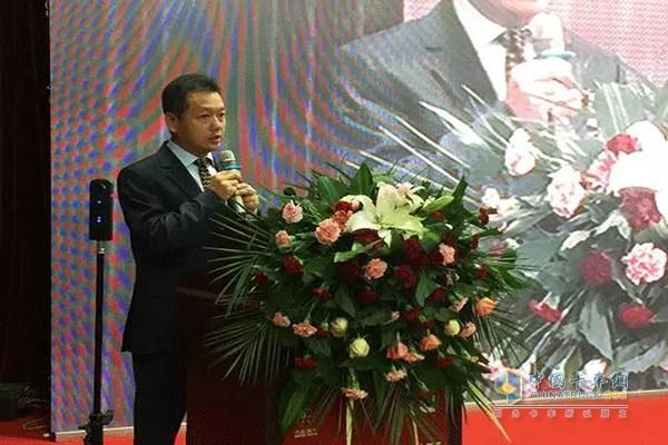 Speech by Wang Kaijun, General Manager of Cummins China Distribution Division