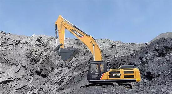 三一SY485H挖机一年还能省出一台小轿车