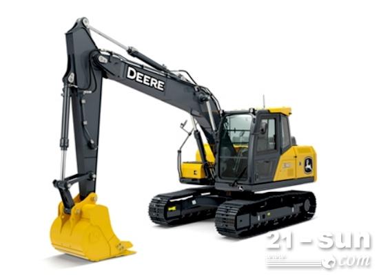 约翰迪尔首款10吨级挖掘机产品E140 LC