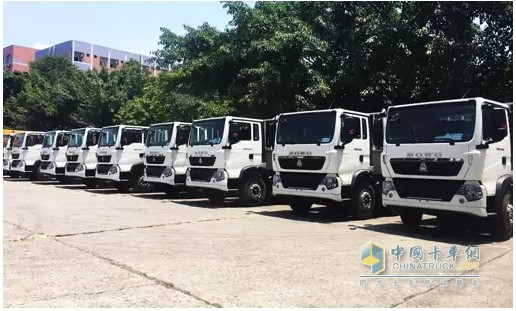 24 T5G Trucks with Mann Engines