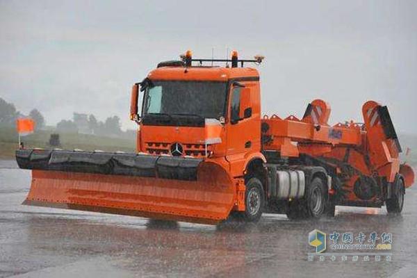 Daimler snow shovel