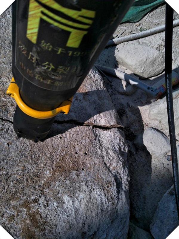 Guangdong rock hydraulic crusher distribution point