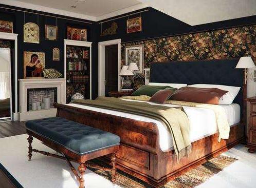 圆形卧室装修