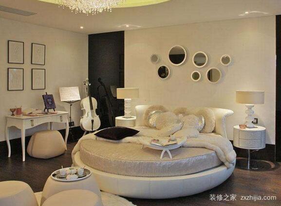 圆形卧室装修效果图