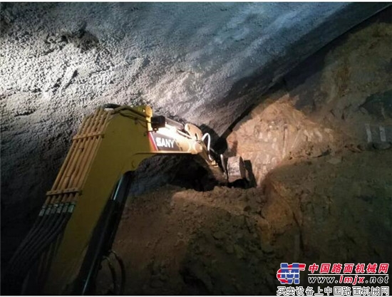 No tail flexible construction is efficient, Sany micro-excavation SY35U into a new favorite of subway construction!