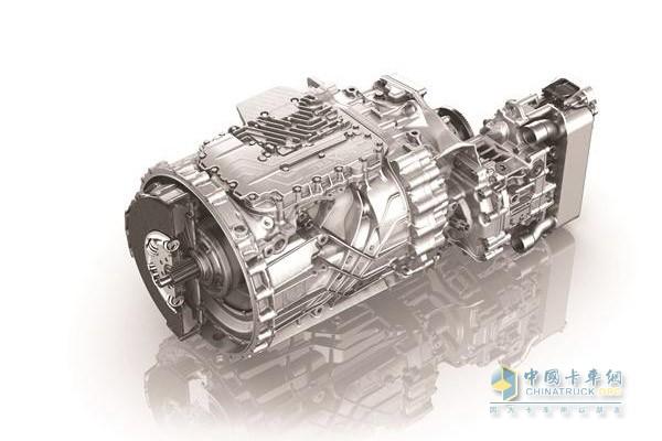 ZF TraXon gearbox