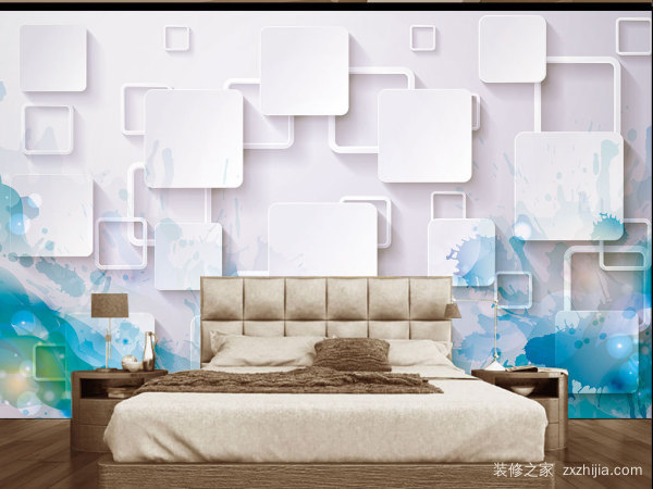 3d彩绘背景墙