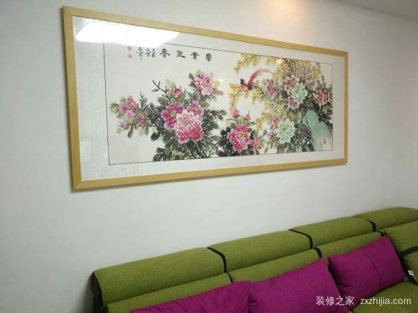 客厅西墙挂什么画风水好