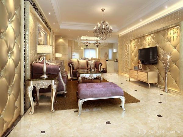 客厅微晶石地砖