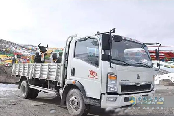 HOWO light truck with gearbox HW90510C