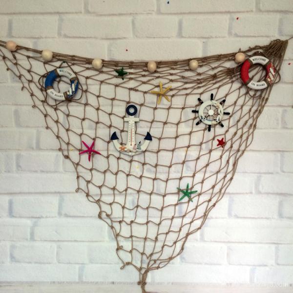 麻绳装饰背景墙