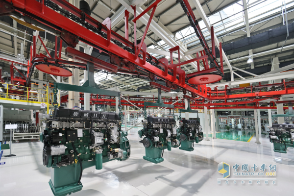 Xichai Aowei 350 hp engine